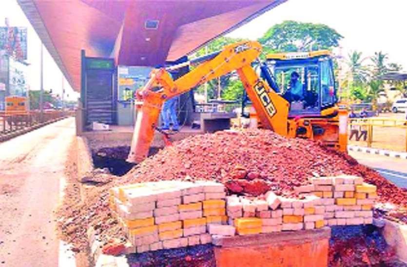विद्यानगर में फुटओवर ब्रिज निर्माण की तैयारी