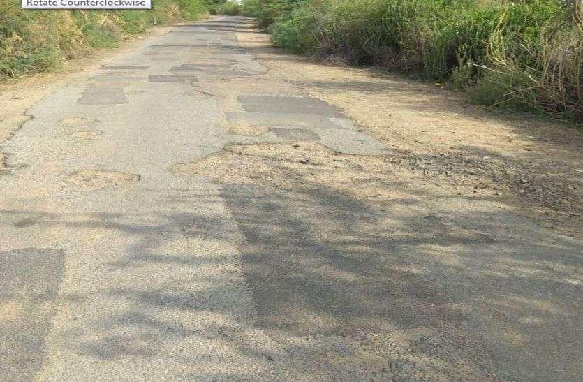 इस कदर बदहाल हो गई है इन गांवों में सड़क