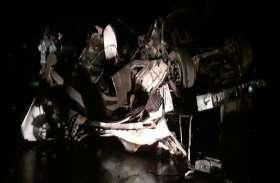 ट्रक अनियंत्रित होकर सैकड़ों फिट नीचे खाई में पलटी, चालक की मौत