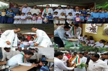नवनियुक्त प्रदेश अध्यक्ष मोहन मरकाम ने किया सुपोषण योजना का केशकाल में शुभारंभ