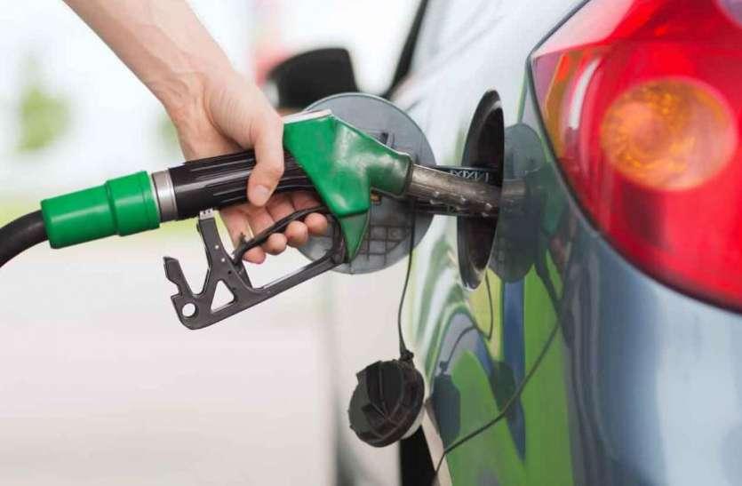 24 घंटे में पांच रुपए तक बढ गए पेट्रोल के दाम