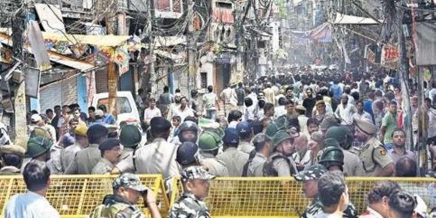 delhi temple Attack