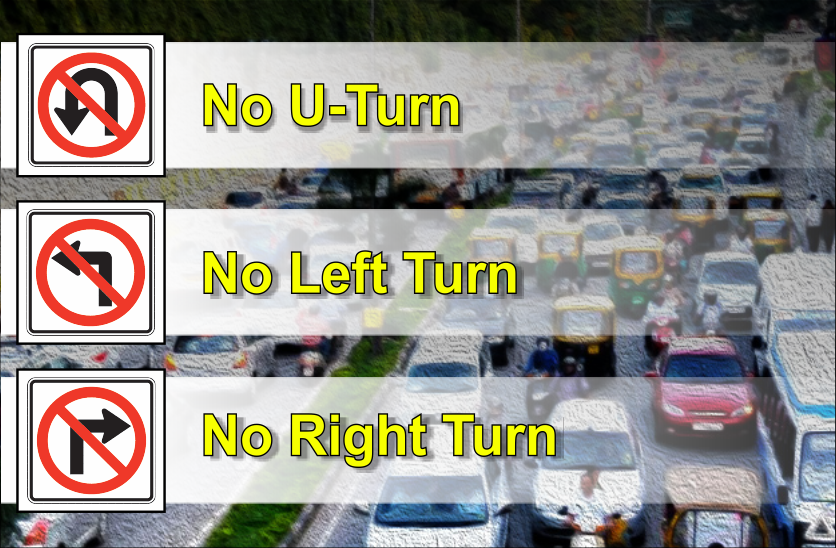 traffic sign rules