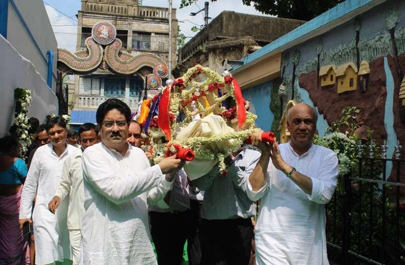 bk birla creamated at kolkata: पंचतत्व में विलीन उद्योगपति बसंत कुमार बिड़ला