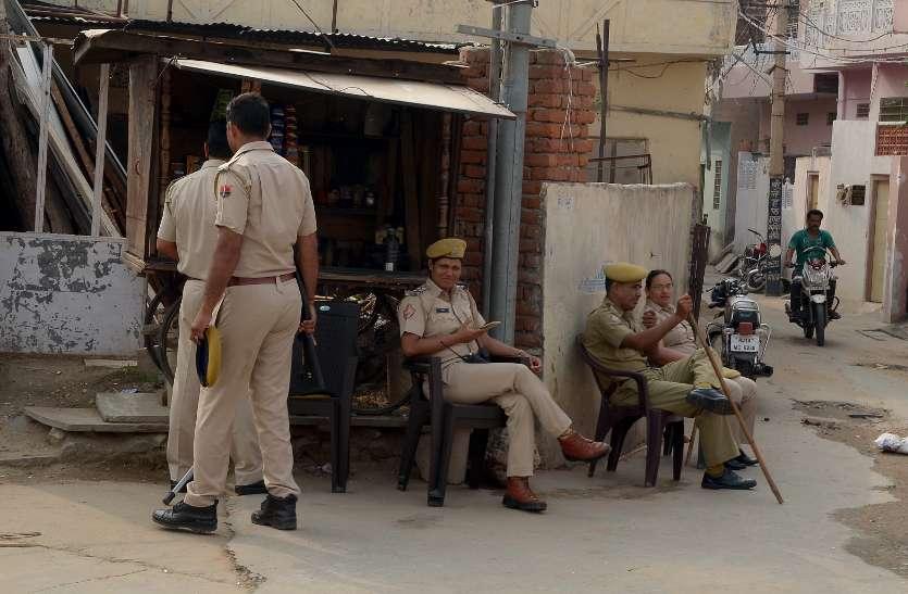 जयपुर में तनाव और दहशत : टीनशैड की छत पर बिल्ली कूदी, पथराव की फैली अफवाह, पुलिस की हुई मशक्कत