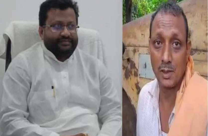 यूपी में सत्ता के नशे में चूर भाजपा विधायक, पीडब्लयूडी कर्मचारी को जड़ा थप्पड़ !