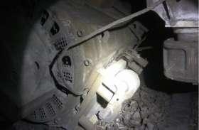 राजधानी एक्सप्रेस हादसे का शिकार होने से बची, ट्रेन के इंजन का ट्रैक्शन टूटकर पटरी पर गिरा