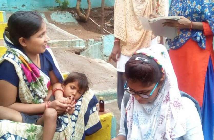 दस्तक के दौरान 521 गांव में मिले 270 कुपोषित