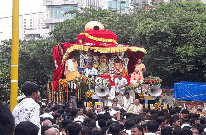 mumbai rathyatra : आषाढ़ी बीज पर निकली रथ यात्रा