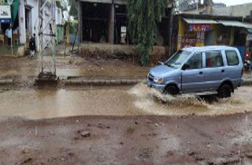 monsoon, बारां  में  कुंड़ा खोह का झरना बहने लगा, बाणगंगा में Boom