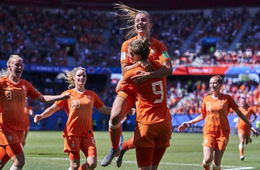 फीफा वुमन्स वर्ल्ड कप: स्वीडन को हराकर फाइनल में पहुंचा नीदरलैंड, अमेरिका से होगा मुकाबला