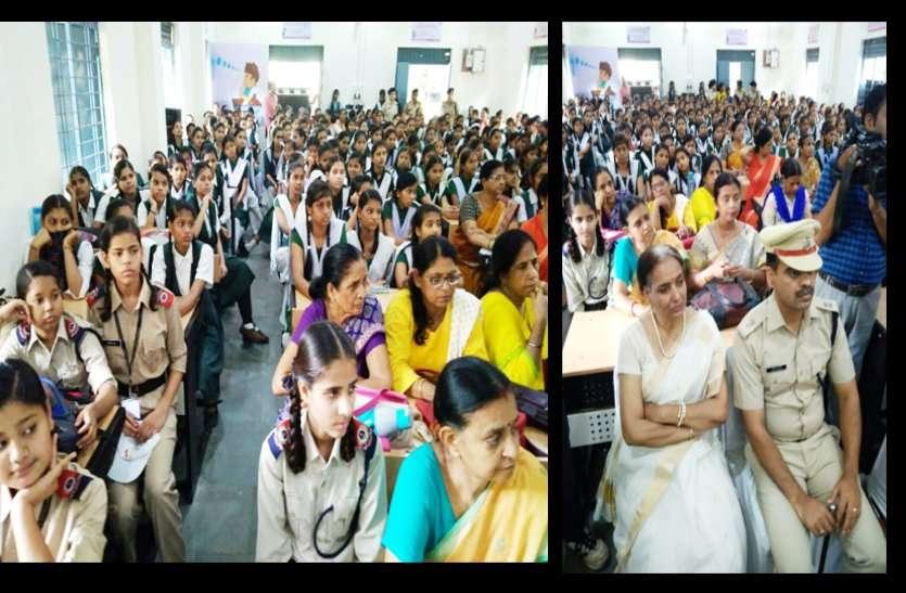 mp dgp vk singh attend program in gwalior