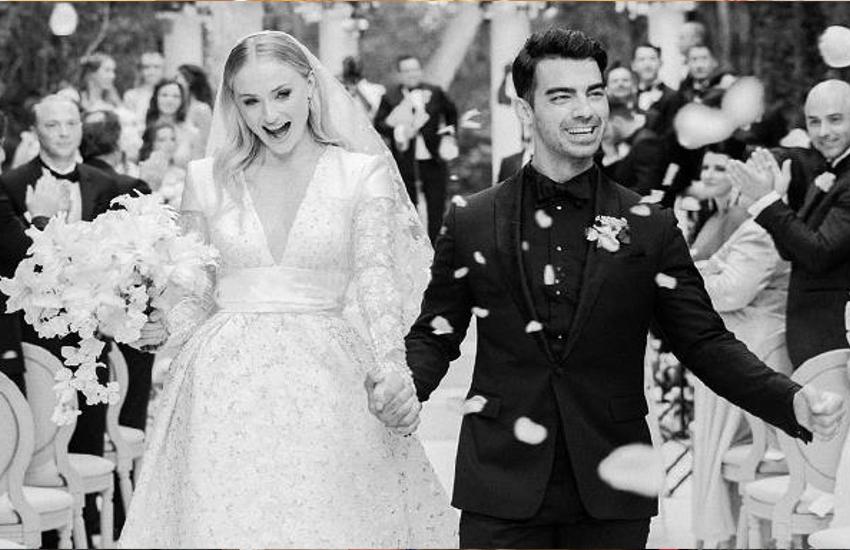 खत्म हुआ इंतजार, सामने आई प्रियंका के जेठ जो जोनस की शादी की पहली तस्वीर, शाही शादी में ऐसे नजर आया कपल