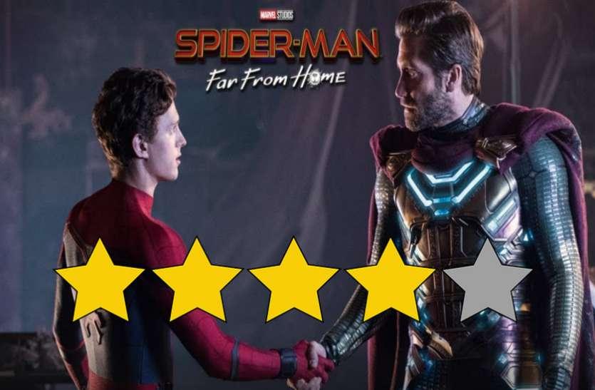 Spider Man Far From Home Movie Review: जबरदस्त एक्शन और रोमांस का कॉकटेल है फिल्म, दर्शकों में जबरदस्त क्रेज