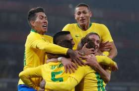 कोपा अमरीका कप : ब्राजीली फुटबॉलर एवर्टन ने कहा, पेरू को नहीं ले रहे हल्के में