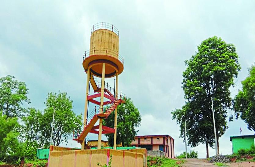 डेढ़ साल बाद भी नल-जल योजना से नहीं मिल रहा पानी, ग्रामीणों में बढ़ा आक्रोश