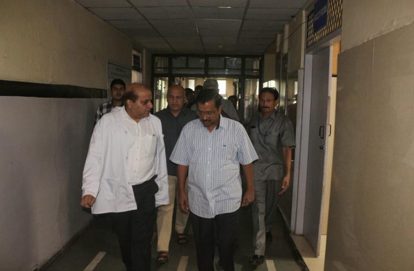 दिल्ली: रेप पीडि़ता बच्ची की हालत नाजुक, हाल जानने हॉस्पिटल पहुंचे CM केजरीवाल