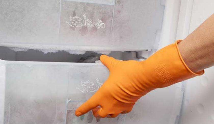 Dead body hidden in freezer