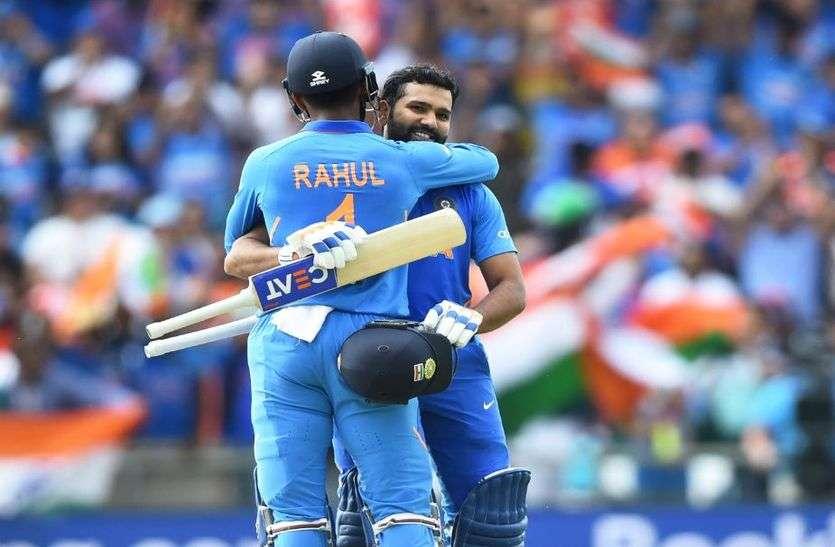 World Cup 2019 : भारत ने श्रीलंका को सात विकेट से हराया, रोहित शर्मा ने रचा कीर्तिमान