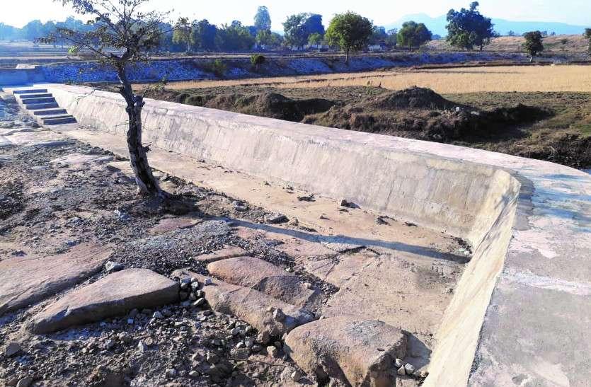 जमीन अधिग्रहण में अफसर लेट, किसानों को इस साल भी बारिश के पानी पर रहना पड़ेगा निर्भर