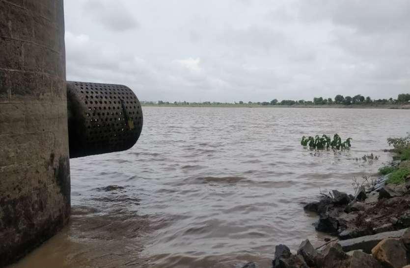 आधा भराया बड़ा बिलावली तालाब, यशवंत सागर में बस डेढ़ फीट की और कसर