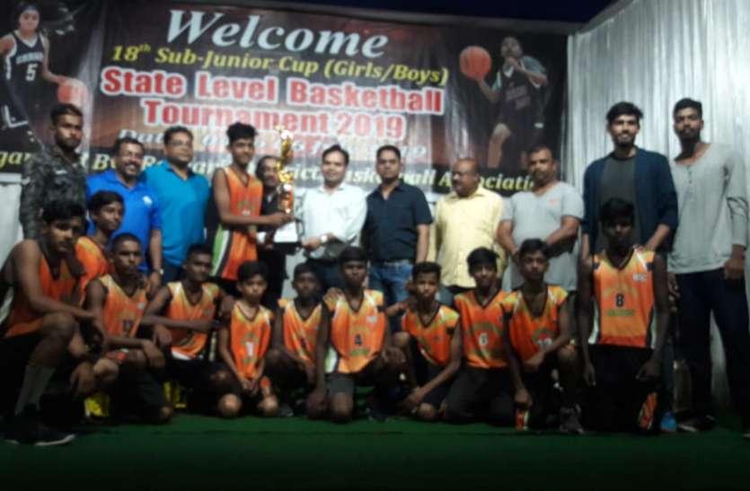 मेजबान रायगढ़ को हराकर दोनों वर्गों में बीएसपी विजेता