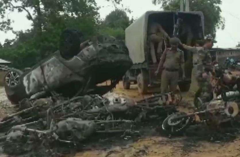 त्रिपुरा: पंचायत चुनाव प्रचार के दौरान आगजनी, उपद्रवियों ने 20 बाइक को किया आग के हवाले