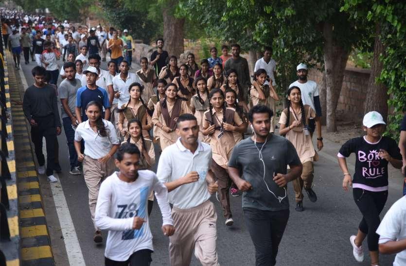 जोधपुर में रन फॉर वन दौड