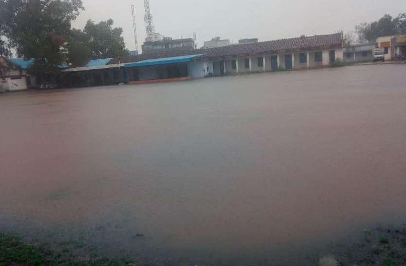 लगने लगी बारिश की झड़ी, जिले में 168 मिमी बारिश