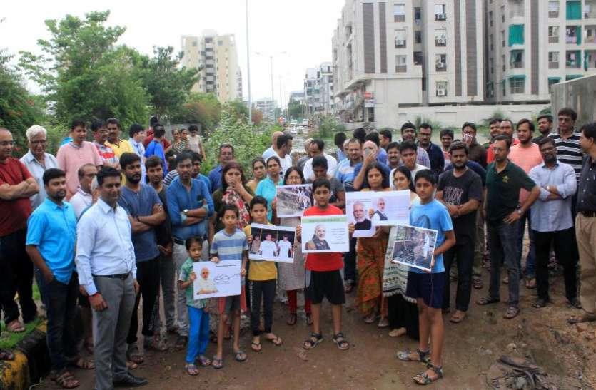वडोदरा :१०० से अधिक सोसायटियों में सीवरेज की सुविधा का अभाव
