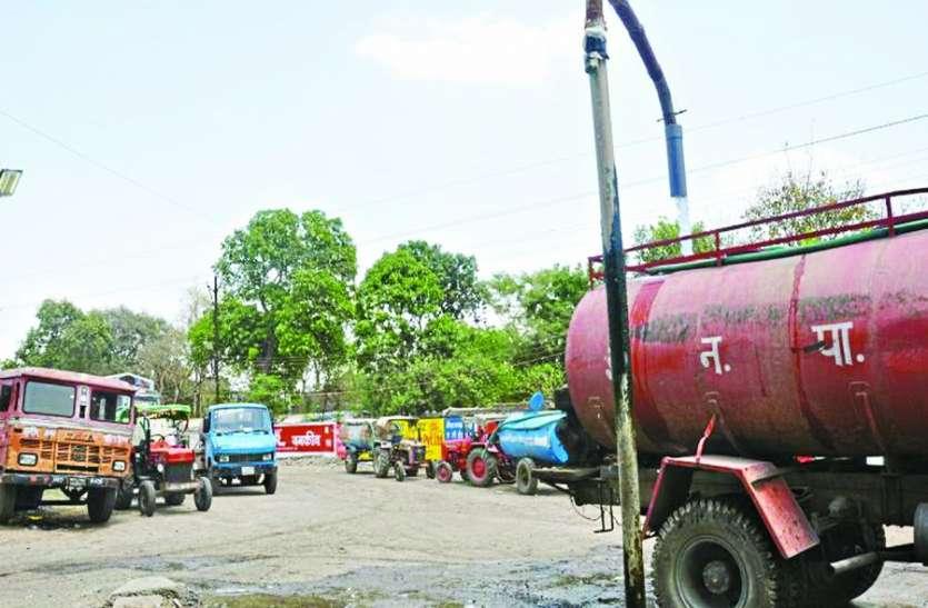 बारिश के चलते निगम ने बंद किए 475 प्रायवेट टैंकर