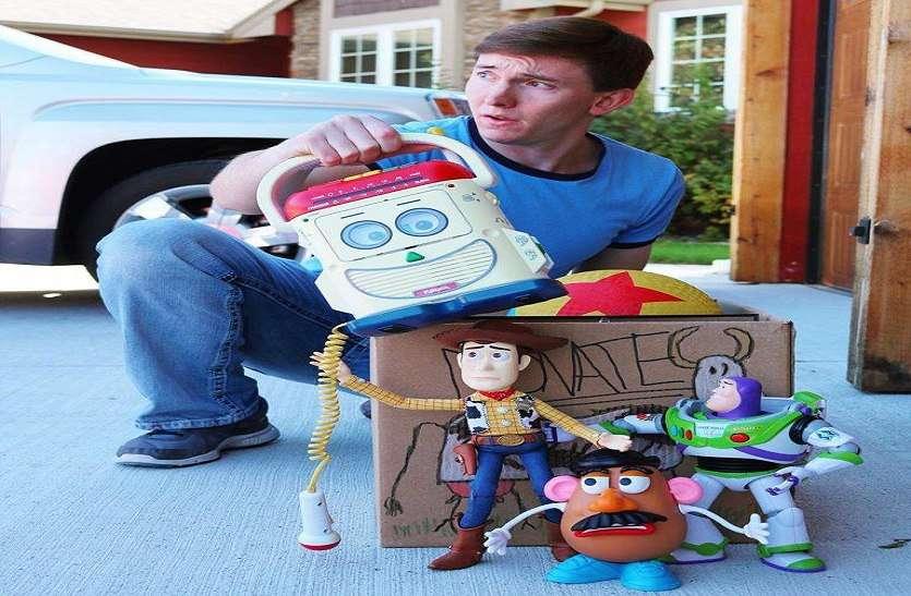 असली खिलौनों से दो भाइयों ने 8 साल में बनाई रियल 'टॉय स्टोरी' फिल्म