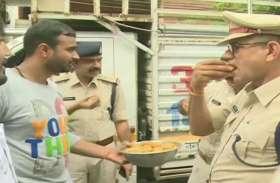 आकाश विजयवर्गीय की रिहाई पर  पुलिस इंस्पेक्टर ने खाई थी मिठाई, एसपी ने अब की कार्रवाई