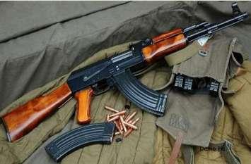 सेना के जवान की AK 47 हो गयी थी चोरी, जांच में पुलिस वालों के पैरों तले खिसक गयी जमीन