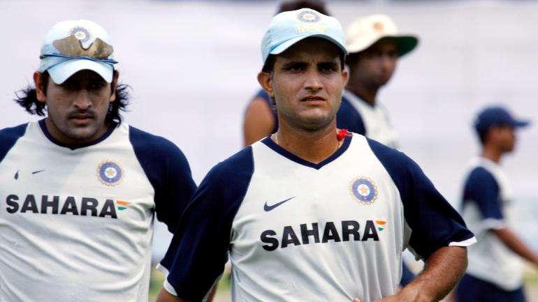 Ganguly and Dhoni