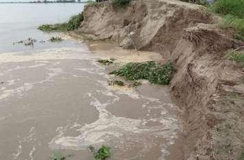 घाघरा के बढ़ते जलस्तर ने बढ़ाई ग्रामीणों के दिल की धड़कन, पिछले वर्ष हो चुका है इतना नुकसान