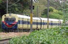 disturbence मेट्रो के काम के कारण प्रभावित हुई लोकल ट्रेन सेवा