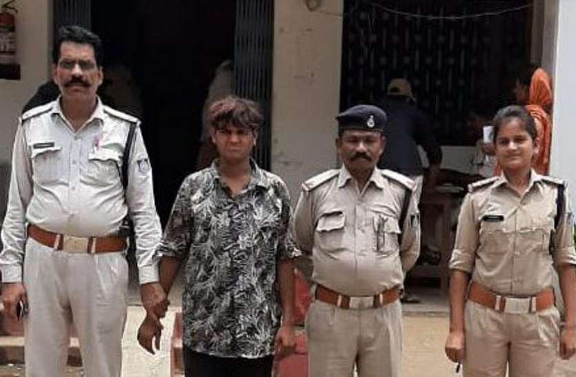 दो किलो गांजा सहित आरोपी को पकड़ा, जानिए पुलिस ने कैसे दी दबिश