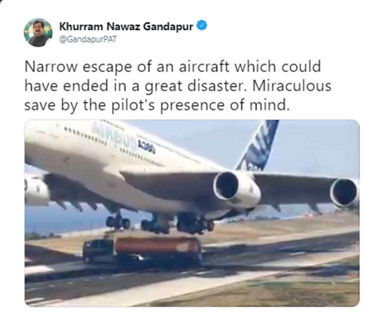 Khurram Nawaz Tweet