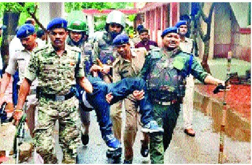 गुना कोर्ट में घुसे आतंकी! वकील और पक्षकार भागे, तुरंत पुलिस ने लिया एक्शन