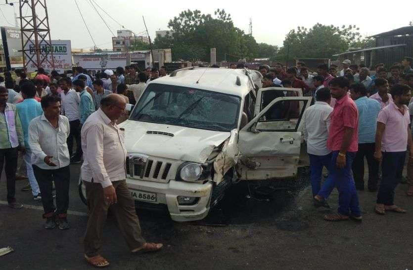 सांचौर के हिट एंड रन केस में आरोपी गिरफ्त से दूर