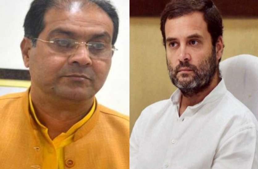 राहुल गांधी के अमेठी दौरे पर यूपी मंत्री ने दिया बड़ा बयान, कहा- वायनाड में भी...
