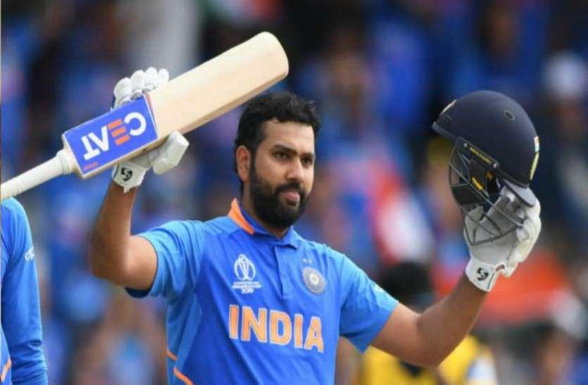 इस बड़े कारनामे को करने वाले पहले  भारतीय खिलाड़ी बनेंगे रोहित शर्मा, जाने