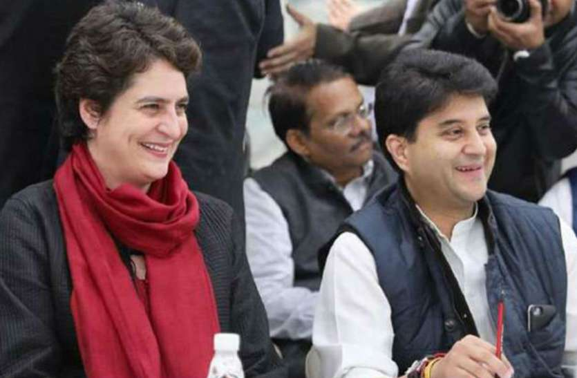कांग्रेस में गुटबाजी: एक गुट ने कहा- राहुल के बाद सिंधिया सही विकल्प, दूसरे खेमे की मांग प्रियंका बनें राष्ट्रीय अध्यक्ष