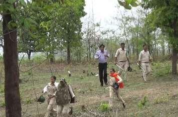 वन अमले पर अतिक्रमणकारियों ने किया पथराव, गोफन चलाए