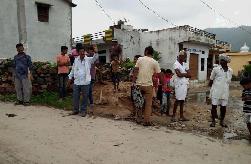 सरकारी दावे फेल, ग्रामीणों ने चंदा जुटा करवाई सफाई