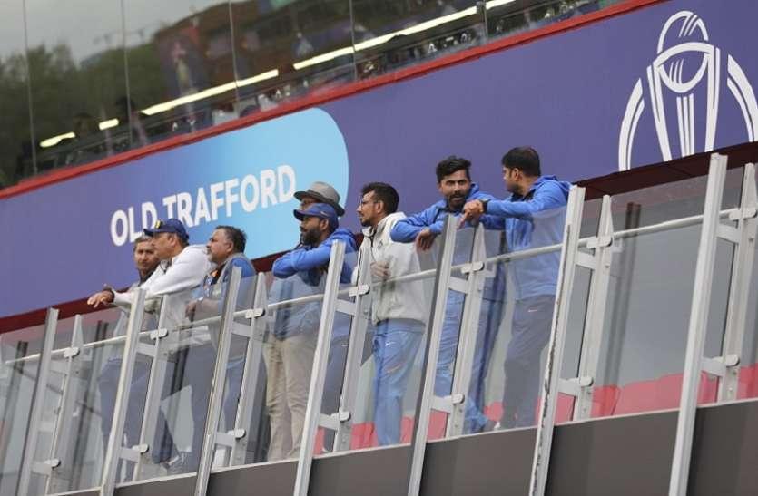 वर्ल्ड कप सेमीफाइनल 2019: भारत-न्यूज़ीलैंड मैच में आज भी हुई बारिश तो विराट सेना को जीत के लिए बनाने होंगे इतने रन