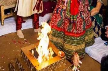 शिव मंदिर में हो रही शादी के मंडप में गिर पड़ा दूल्हा और मुंह से निकलने लगा यह, फिर एक नहीं दो शादियां हुईं कैंसिल