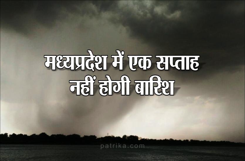 Monsoon Update: मध्यप्रदेश में कमजोर पड़ा मानसून, उत्तर भारत की तरफ बढ़ा