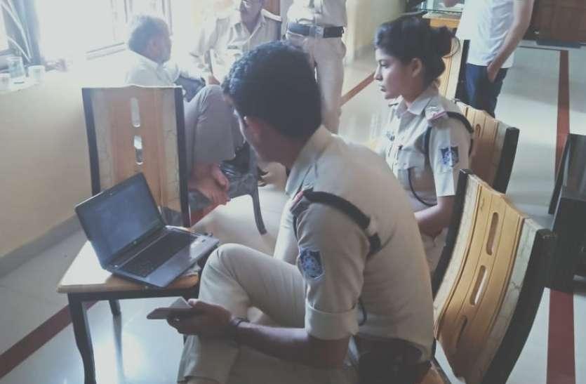 सीसीटीवी कैमरे खंगाले,संदिग्धों से की पूछताछ,फिर भी चोर बेसुराग